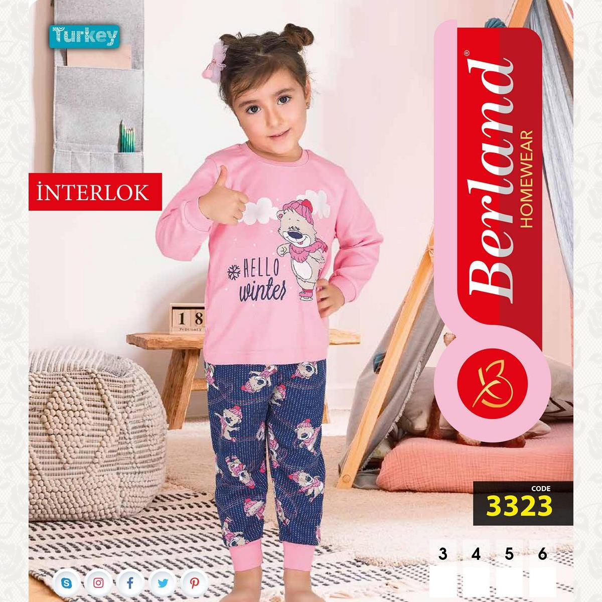 Домашний костюм для девочки, цвет стандарт с фото