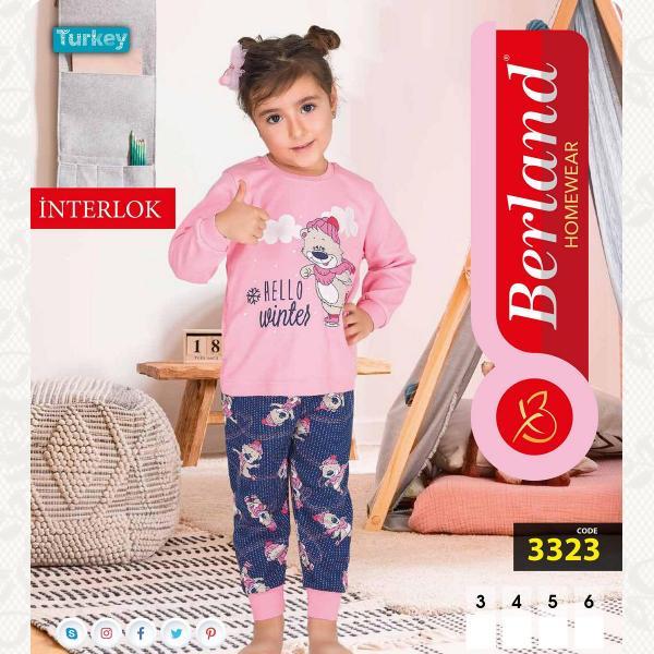Домашний костюм для девочки, цвет standart с фото, 3323