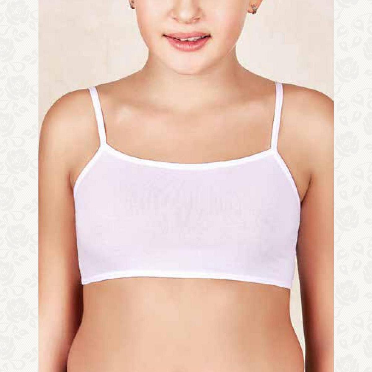 Топ для девочки, цвет белый с фото, 6 шт.