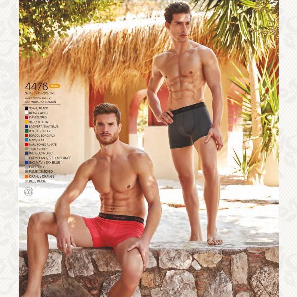 Боксеры мужскии, цвет бордо с фото, 4476