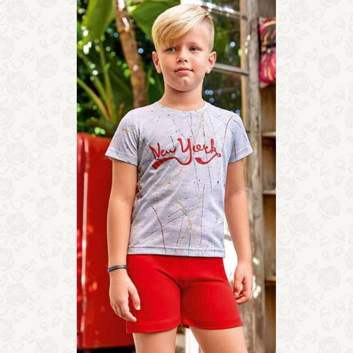 Пижамка для мальчика , цвет серый с фото