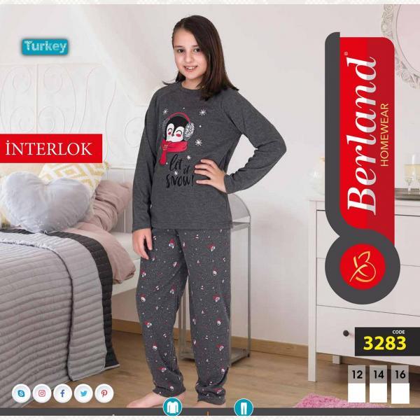 Домашний костюм для девочки подростковый, цвет standart с фото, 3283