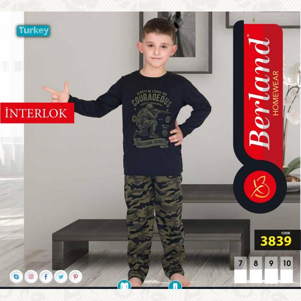 Домашний костюм для мальчика, цвет standart с фото, 3839