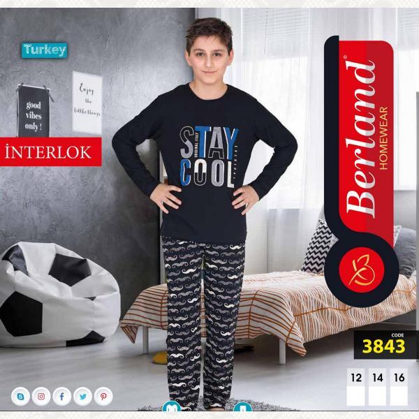 Домашний костюм для мальчика, цвет standart с фото, 3843