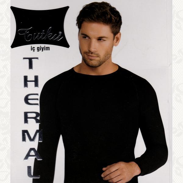 Термокофта, цвет черный, 2 шт., 0126