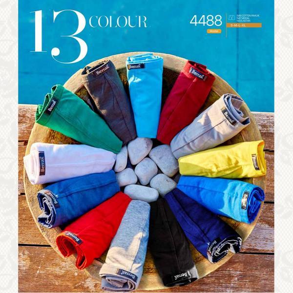 Трусы боксеры, цвет бордо с фото, 4488