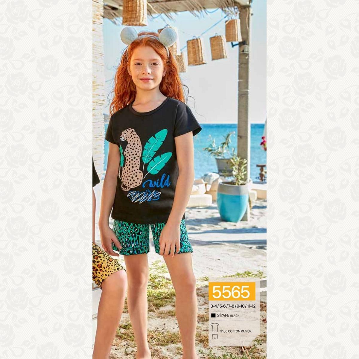 Домашний комплект для девочки, цвет черный с фото