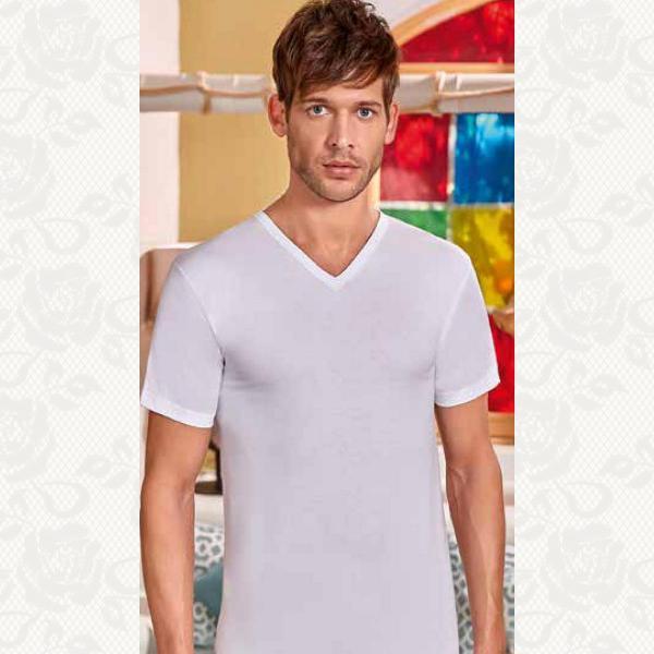 Батал футболка размер от 56-60, цвет белый с фото, 6 шт., 1007