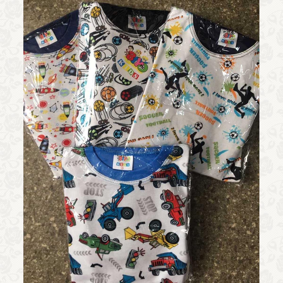 777 пижама для мальчиков, цвет ассорти, 3 шт.