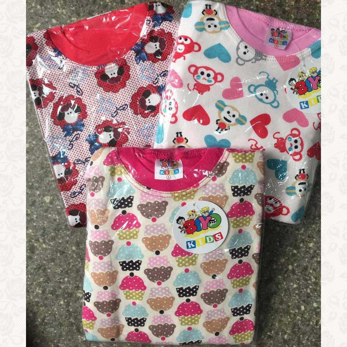 778 пижама для девочек, цвет ассорти, 3 шт.