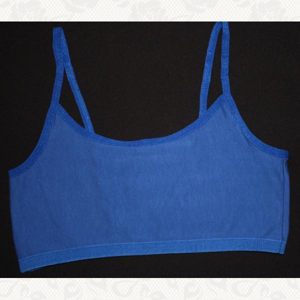 Топ девичий, цвет синий, 12 шт., 6052