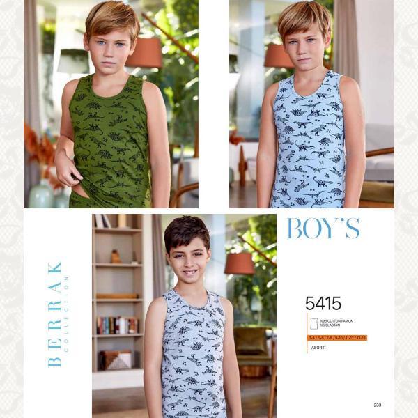 Майка для мальчика, цвет ассорти с фото, 6 шт., 5415