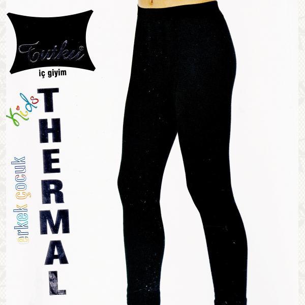 Термолосины для мальчика, цвет черный, 2 шт., 0135
