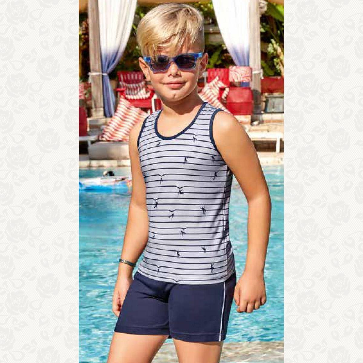 Домашний комплект для мальчика, цвет серый с фото
