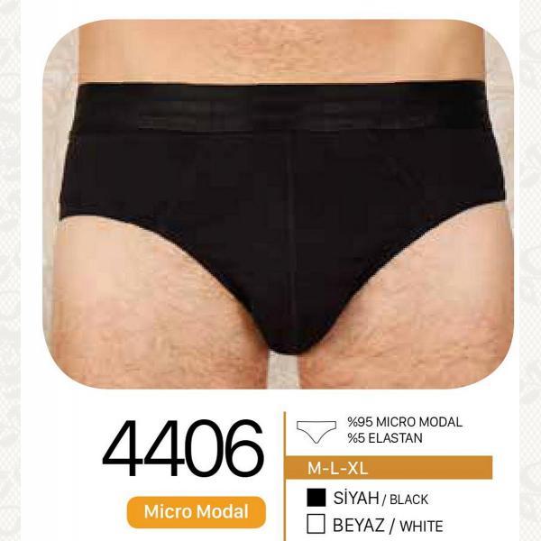 Трусы мужскии, цвет черный с фото, 4406