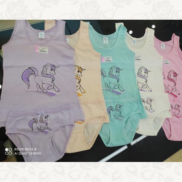 Комплекты для девочек с 6 месяцев до 2 лет в ассортименте, цвет ассорти, 5 шт., 4091