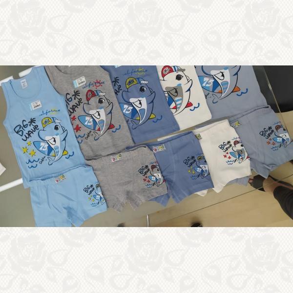 Комплекты для мальчиков с 6 месяцев до 2 лет в ассортименте, цвет ассорти, 5 шт., 5061