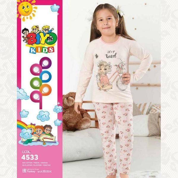 Пижамы для девочек с 3 до 12 лет в ассортименте, цвет ассорти, 5 шт., 7