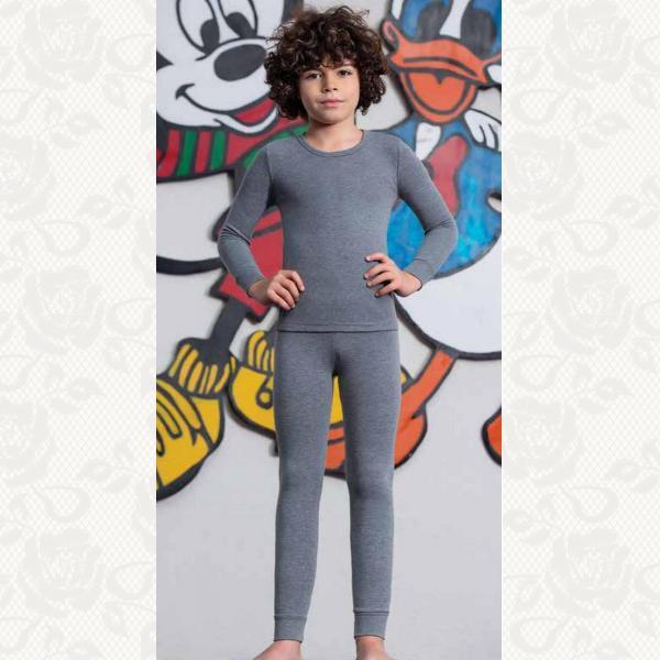 Термоштаны для мальчиков, цвет кремовый, 2 шт., 848