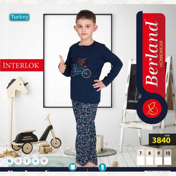 Домашний костюм для мальчика, цвет standart с фото, 3840