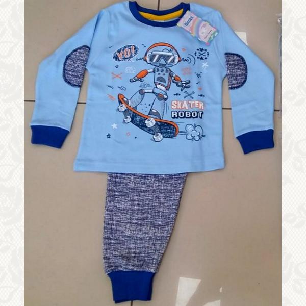 Пижама, цвет голубой, 5 шт., 504