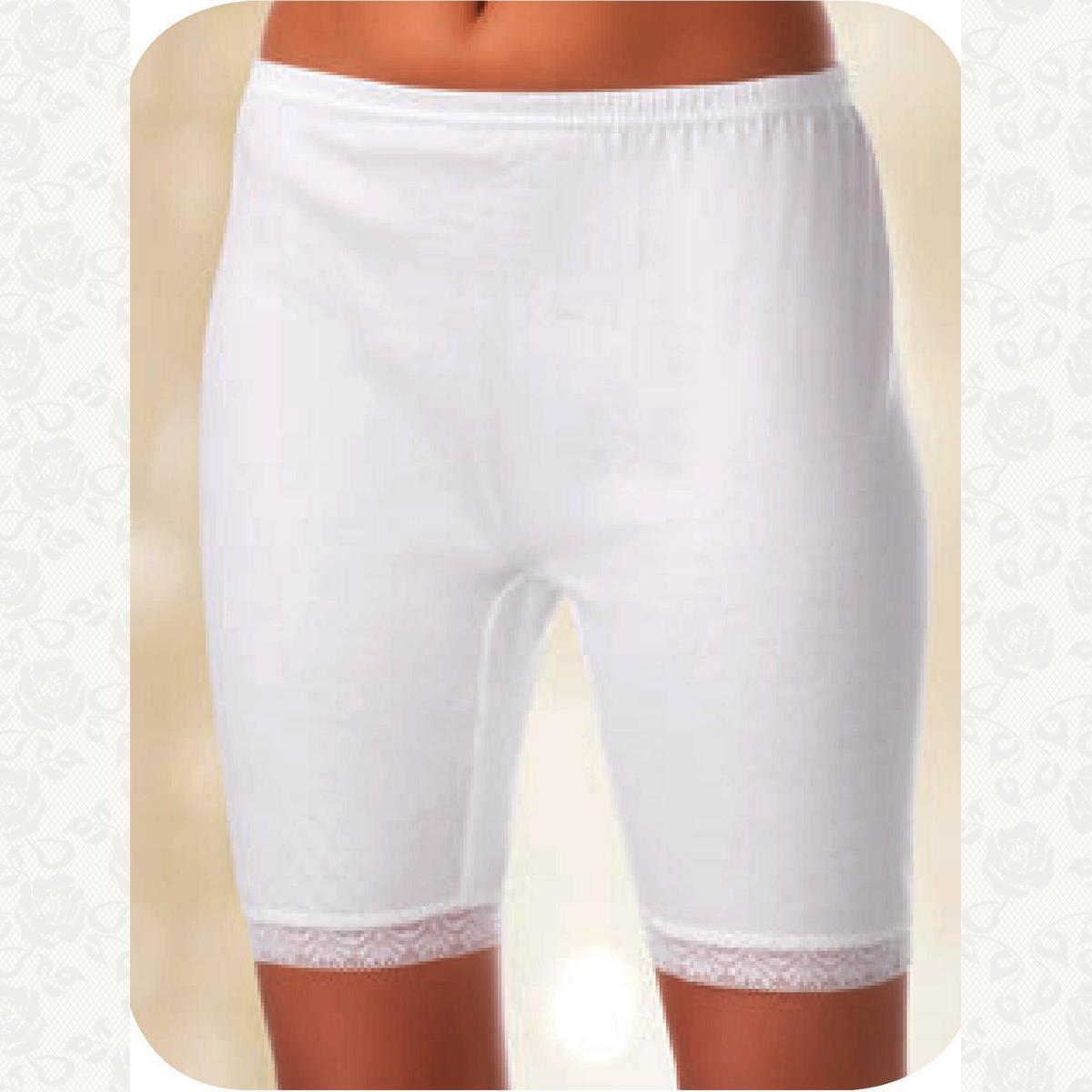Панталоны с кружевом berrak, цвет белый, 6 шт.