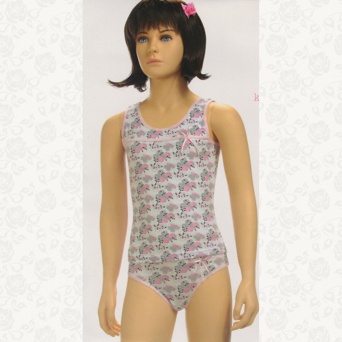 Комплект для девочки, цвет розовый с фото, 6 шт.