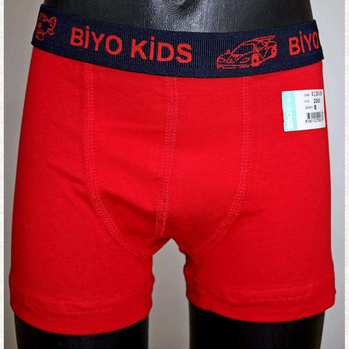 Боксеры для мальчиков, цвет ассорти, 10 шт.
