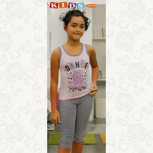 Пижамка для девочек, цвет ассорти, 2 шт., 4026